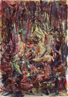 Uden titel Gouache på papir | 51x36 cm | 2015 | OCH-G-15-