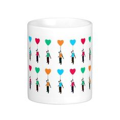 #GABAMBO Dil shaped Balloon Mugs from Dil Chahta Hai. Produced under license from Excel Entertainment Private Limited. #DCH Saif Ali Khan. Available at www.gabambo.com