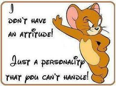 attitude quotes with cartoon - Google Search