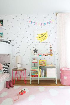 shared girls room with bunk beds