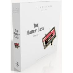 T.I.M.E. Stories: The Marcy Case Expansion - Try to find some non-spoilerly videos about this on YouTube. T.I.M.E. Stories is just a great game and some say to play these expansions in the order they're released... hmmm... what could that mean?