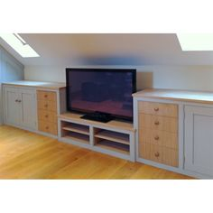 Image result for built in shelves under eaves