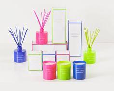 Neón, la nueva colección de #velas y mikados de Zara Home