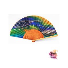 Natural silk hand painted fan, in my workshop in Barcelona. It's like a textile jewel Painted Fan, Hand Painted, Textiles, Hand Fan, Barcelona, Workshop, Hands, Jewels, Textile Jewelry