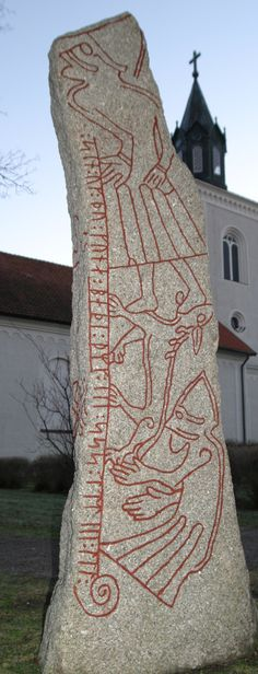 The Ledberg Runestone...THE ORIGINS OF RUNES