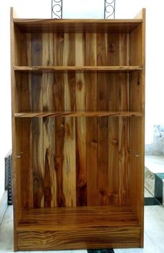 DIY Teakwood bookshelf - created by Indranil Banerjie Bookshelves, Bookcase, Indian Diy, Woodworking Projects, Create, Home Decor, Bookcases, Decoration Home, Room Decor