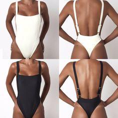 Short Jumpsuit, White Jumpsuit, Jumpsuit Shorts, Monokini Swimsuits, Bikini Swimwear, Rompers Women, Jumpsuits For Women, Overall Shorts, Backless Bodysuit