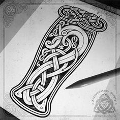 """Irish beer serpent ☘️ for fun (iPad pro + apple pencil + Procreate app = sketch, workflow) Ирландский пивной (зелёный) змий ☘️✏️  тост от моего друга на тему работы: """"Так выпьем за мудрость святого Патрика, который выгнал из Ирландии всех змей, но зеленого змия оставил""""  #celtic #celticart #celticknot #ornaments #arzarz #emblem #celticartlogo #artwork #drawing #Arzamastsev #siberia #celticdesign #knotwork #pencil #sketch #art #artist #draw #pencilsketch #workflow #procreateapp #procr"""