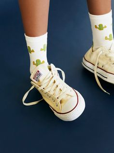 Adventure Crew Sock | Super fun, boho-inspired socks featuring a cute print. Slightly stretchy fabrication and elastic band for an easy, effortless fit.