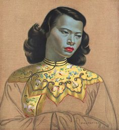 The biggest selling print in the world. The work of Vladimir Tretchikoff.