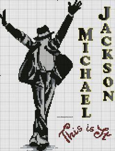 Gallery.ru / Фото #60 - Майкл Джексон (схемы) - Olgakam