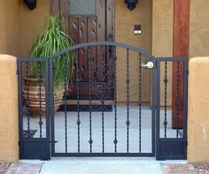 Delicieux Courtyard Gates : Great Gates And Whiting Iron In Phoenix AZ
