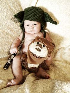 Star Wars Baby Photo shoot