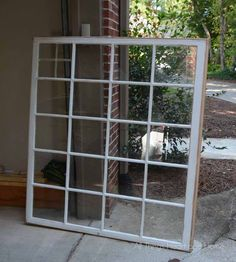 See what I did with this gorgeous window frame!