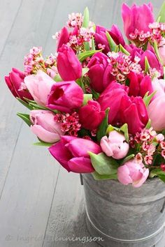 Nothing says spring like tulips! #LadyLindasLoft
