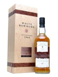 White Bowmore [single  malt  scotch islay]