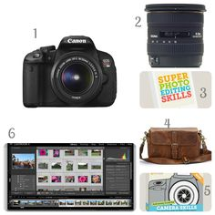 Photography Essentials - I'm particularly interested in the tutorial package for Lightroom!