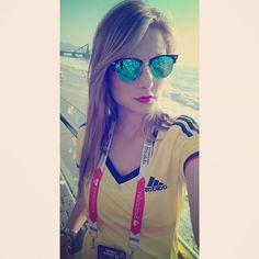 Vamos carajooooo!!!! Con toda #miseleccion orgullosa de ser colombiana