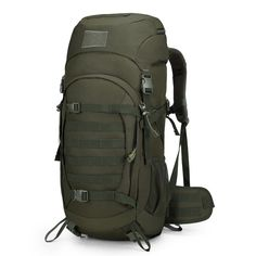 9ea58c91d2 Mardingtop 50 Liter Internal Frame Backpack Tactical Backpack Military  Backpack Molle Bag with Rain Cover for Hunting Shooting Camping Hiking  Trekking ...