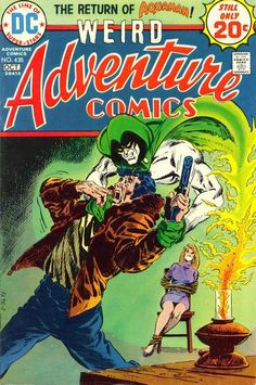 Adventure Comics #435. Jim Aparo draws the Spectre.