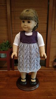 1cb926e8f Ravelry  aintlifegrand s American Girl Doll Empire Waist Lace Dress ...