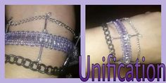 Unification Bracelet Unity or Reunification - bridging the gap or bringing  back something or some one lost $15