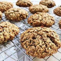 Sunde cookies med havregryn og peanutbutter - Maria Vestergaard