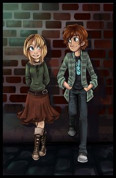 Modern Astrid and Hiccup ... How to train your Dragon, hiccup, astrid, viking