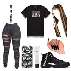 Cop or drop🌸 Baddie Outfits Casual, Boujee Outfits, Swag Outfits For Girls, Cute Swag Outfits, Teenage Girl Outfits, Girls Fashion Clothes, Teen Fashion Outfits, Dope Outfits, Trendy Outfits