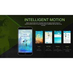Wallmart.win Morul U5 Bluetooth Sports Headphones Support Noise Reduction NFC Music Control Pedometer Sweat Proof: Vendor: CNV Type: Earbud…