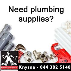 Busy with plumbing upgrades, but not sure where to get all your plumbing supplies? Don't worry, head to Pennypinchers Knysna for our wide selection of plumbing supplies and tools. #plumbing #DIY