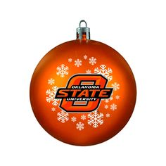 Oklahoma State Cowboys Ornament - Shatterproof Ball