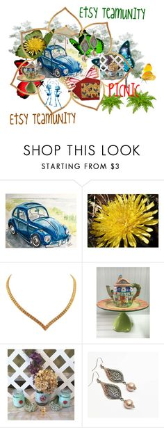 """""""PICNIC Etsy TeamUNITY"""" by galina-780 ❤ liked on Polyvore"""