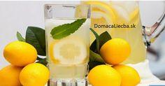 Pite citrónovú šťavu namiesto liekov, ak máte jedno z týchto 13 ochorení