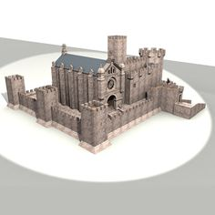 Warrior Monk Castle Model available on Turbo Squid, the world's leading provider of digital models for visualization, films, television, and games. Fantasy City, Fantasy Castle, Minecraft Architecture, Art And Architecture, Game Of Thrones Castles, Castle Floor Plan, Model Castle, Small Castles, Minecraft Castle