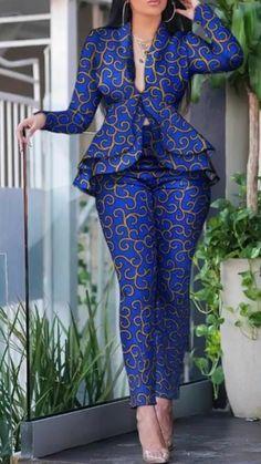 ankara mode Marlene v Marlene v Latest African Fashion Dresses, African Print Dresses, African Dresses For Women, African Print Fashion, Africa Fashion, African Attire, Ankara Fashion, Modern African Dresses, African Prints