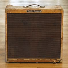 Fender  Bassman 1957  ... Please visit www.lewishamiltonmusic.com to find out more about one of the UK's hardest working Blues/Rock trios :)