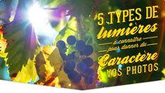 5 types de lumières à connaître pour donner du caractère à vos photos: http://tontonphoto.fr/5-types-de-lumieres-caractere-photo/