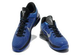 Nike Zoom Kobe 7 TB Game Royal Metallic Black Silver,Style code: 511371-