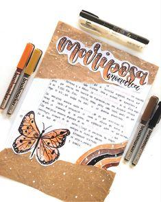 Bullet Journal Writing, Bullet Journal Aesthetic, Bullet Journal School, Bullet Journal Ideas Pages, Bullet Journal Inspiration, Journal Fonts, Book Journal, Journaling, School Organization Notes