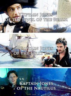 Colin O'Donoghue -Killian Jones - Captain Hook on Once Upon A Time