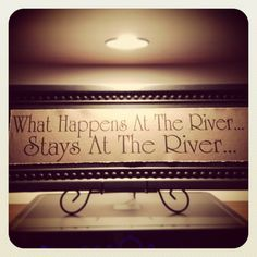 This needs to be made and hung in my home PRONTO!!! Screw going to Vegas, take me to the river and drop me in the water......