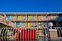 Wildwood Motels: Midcentury Modern for Everybody - Lolipop Motel Exterior - Retro Roadmap