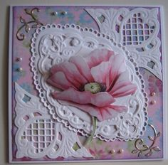 Marianne Design Cards, Diy And Crafts, Paper Crafts, Spellbinders Cards, Cricut Cards, 3d Cards, Die Cut Cards, Heartfelt Creations, Creative Cards