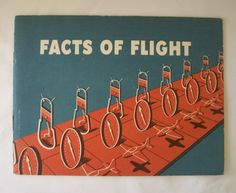 Facts of Flight 1955 Vintage Illustrated Operation of Private Aircraft Aviation Booklet by AtomicPutz, SOLD!!!