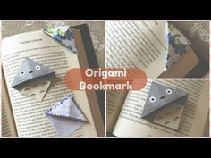 Origami Bookmark DIY (segnalibro) | Chibiistheway - YouTube
