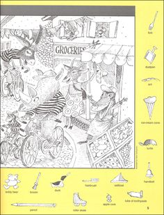 Hidden Object Puzzles, Hidden Picture Puzzles, Hidden Objects, Colouring Pages, Coloring Books, Maze Drawing, Hidden Games, I Spy Games, File Folder Activities