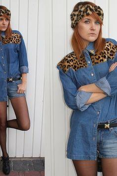 Leopard shirt DIY   Women's Look   ASOS Fashion Finder