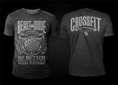 T-shirt Design for Patriotic T-Shirt Designs for the Crossfit Market by D'Mono
