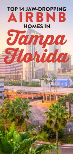Top 14 Jaw-dropping Airbnb Tampa Florida Homes 1 Airbnb Rentals, Vacation Home Rentals, Florida Vacation, Florida Home, Ski Europe, Seminole Heights, Florida Weather, Ybor City, National Parks Usa